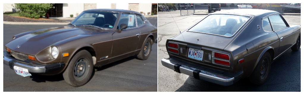 975 Datsun 280-Z 2+2 Two Door Coupe