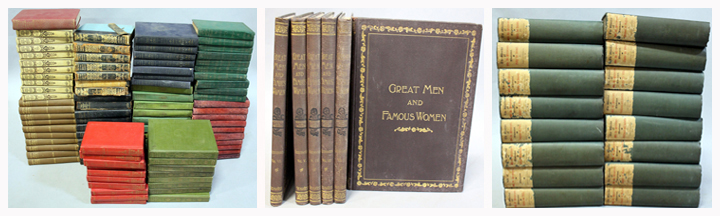 books for sale at auction