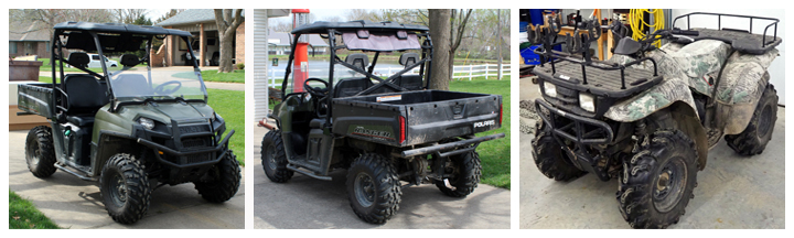 2010 Polaris Ranger, Diesel Powered Utility Vehicle