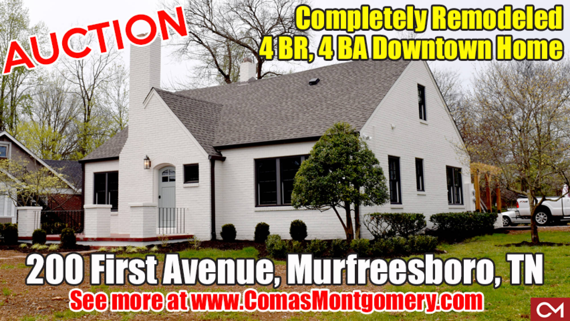 real estate, downtown, murfreesboro, remodeled, house, home, for sale, investment, apartment, square, comas, montgomery