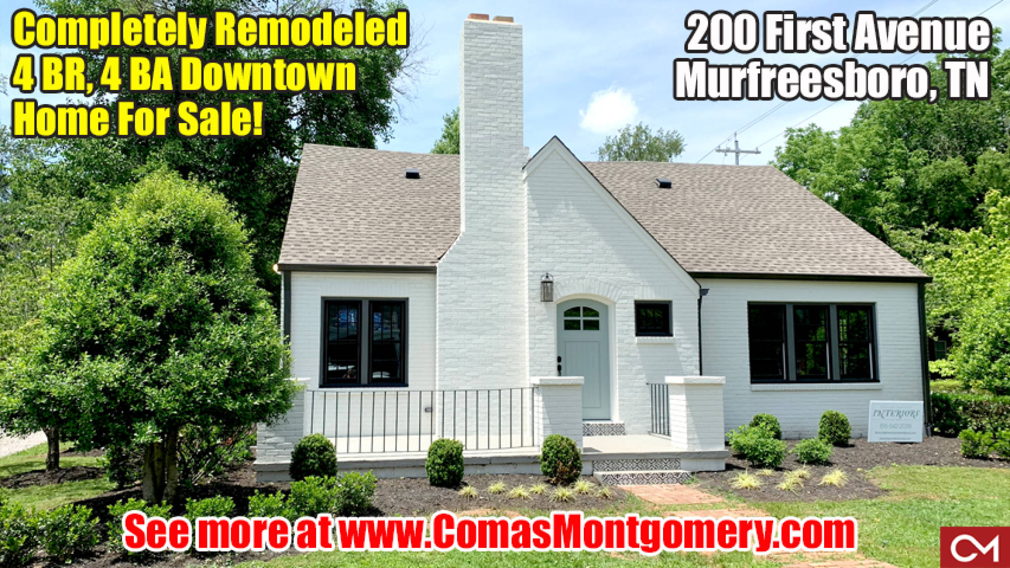 Real Estate, Downtown, Murfreesboro, Home, House, Renovated, Remodeled, First, 1st, Avenue, MTSU, Square, Rutherford, Comas, Montgomery