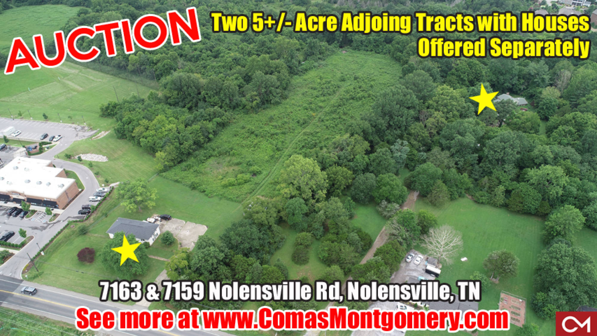 Nolensville, Real Estate, Land, Commercial, High Traffic, Residential, Home, For Sale, Houses, Comas, Montgomery, Tennessee