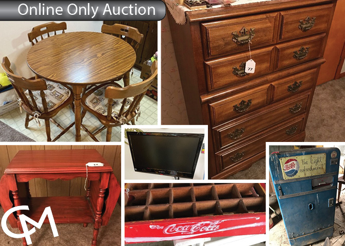 John Deere B Tractor, Tools, Furniture, & Collectibles | Online Auction | Francisco, Indiana