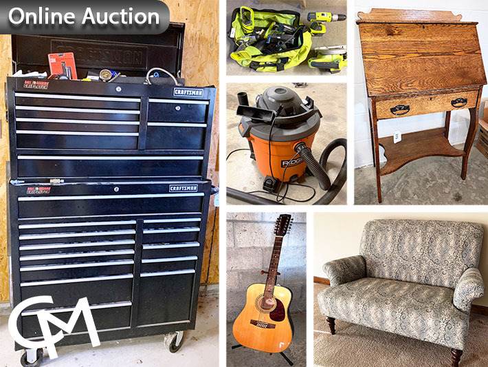 Tools, Platform Scales,   Furniture & Collectibles Online Auction | Mount Vernon, Indiana