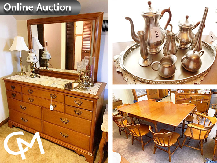 Willett & Tell City Furniture, China, Collectibles Auction | Evansville, Indiana