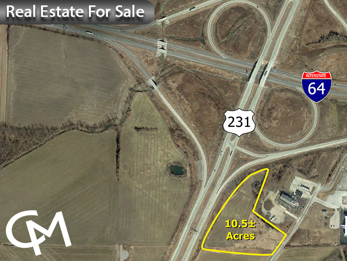 10.5 +/- Acres of Land For Sale in Spencer County, IN