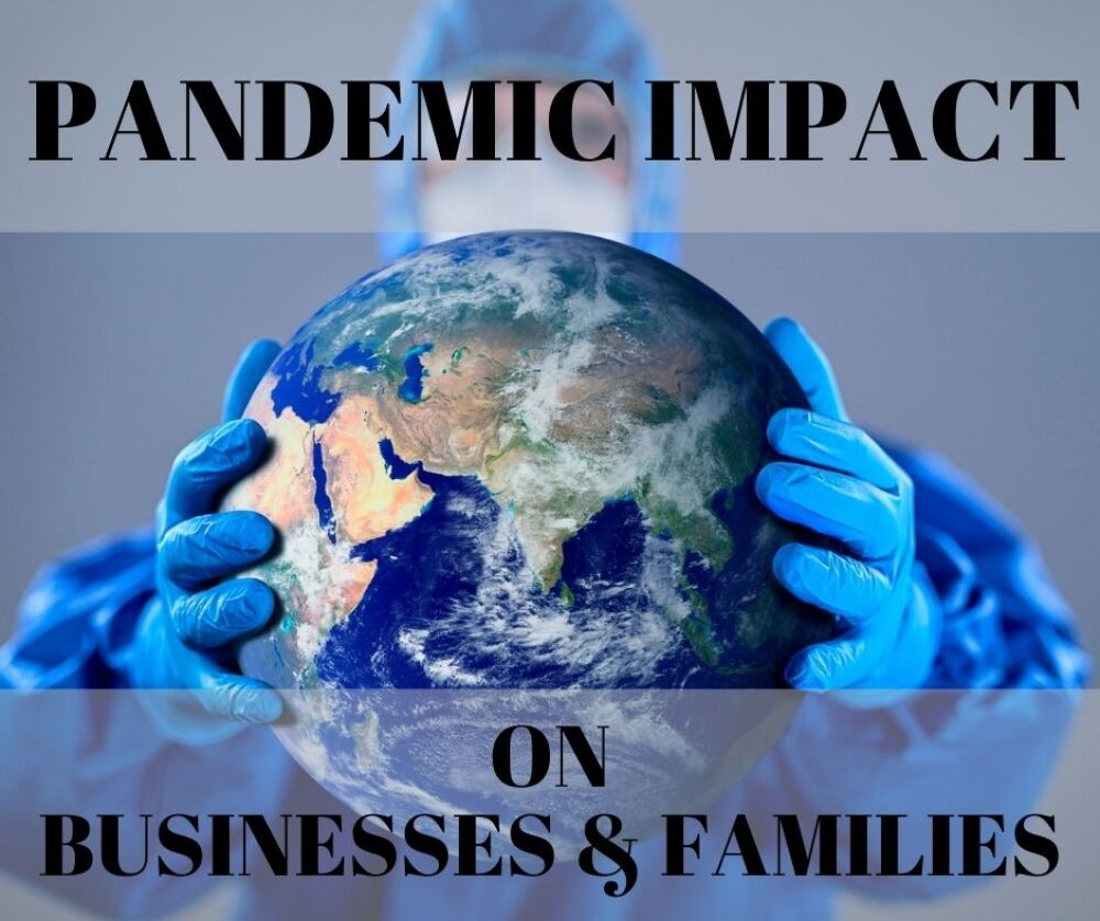 Pandemic Impact on Businesses & Families photo