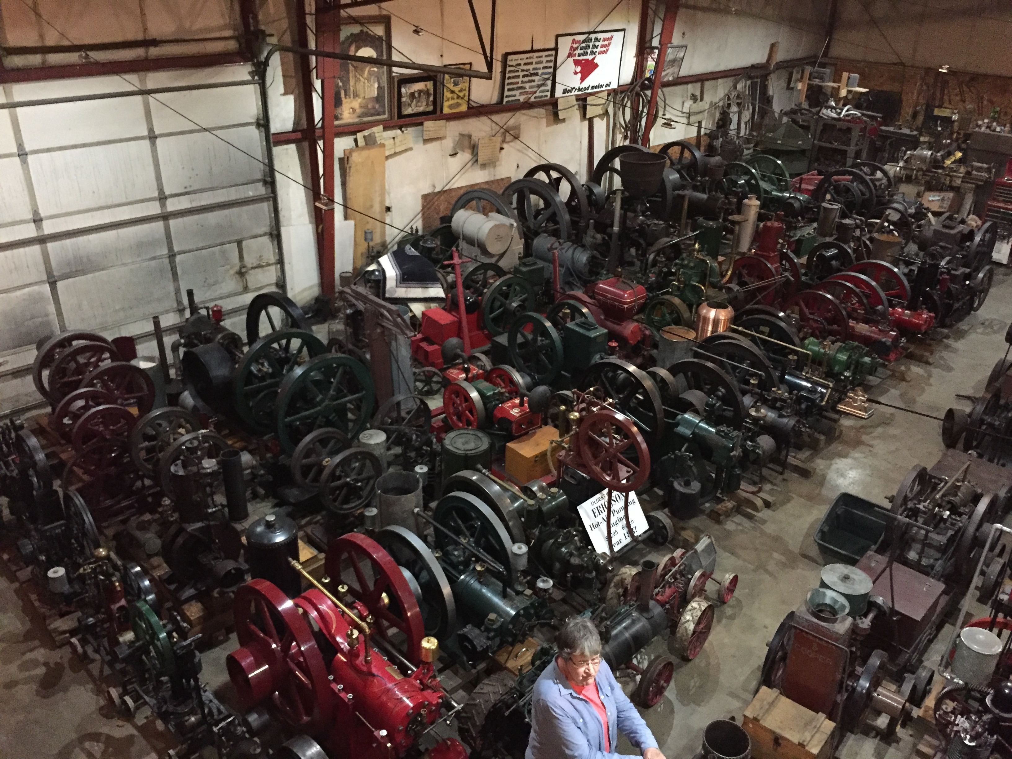 Kenny & Wendy Wolf Engine Collection photo