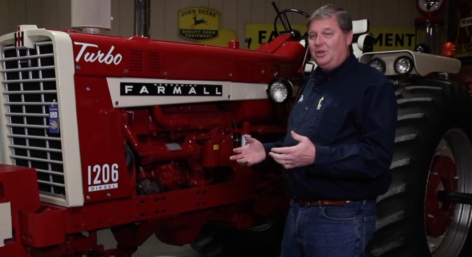 What to look for when buying a restored tractor. photo