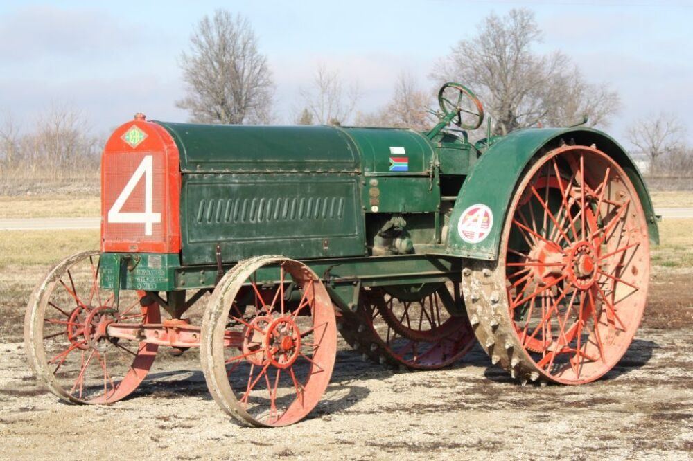 The Most Traveled Antique Tractor In History! photo