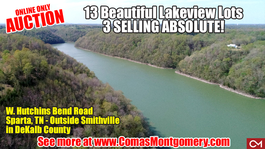 Lake, Lots, Build, Dream, Home, House, Investment, Vacation, Retreat, Cabin, Comas, Montgomery, Center Hill, Lake, Sparta, Tennessee, DeKalb, County