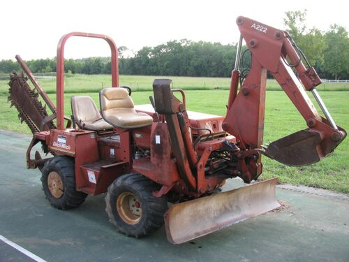 Absolute Online Auction - REPO Ditchwitch 3500 trencher/backhoe featured photo
