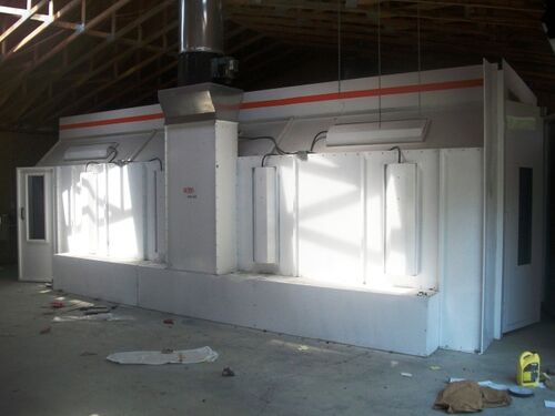 SprayZone.Net Spectrum Paint Booth - Bank Repo Online Auction featured photo