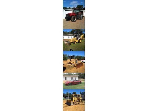 Annual Fall Equipment Auction Onsite, Grenada, MS. featured photo