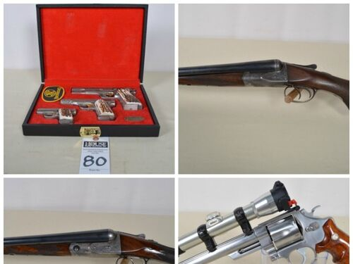 Classic Firearms Auction - Early Side-By-Sides, Handguns & Rifles featured photo