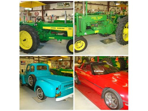 Vintage Tractors, Classic Cars & Truck, Motorcycle & Equipment featured photo