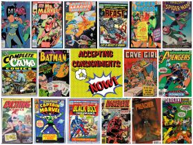 Comic Book Auction featured photo 1