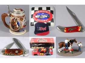Collectible Steins, NASCAR Memorabilia & Pocket Knives Auction featured photo 1