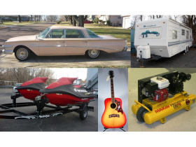 Ford Edsel, Travel Trailer, Tools & Musical Instruments Auction featured photo 1