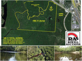 188 ± Acres, Riverfront Development Tract featured photo 1