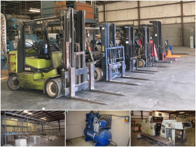 Industrial Liquidation: Cardboard Box Lines, Forklifts & Pallet Racking featured photo 1