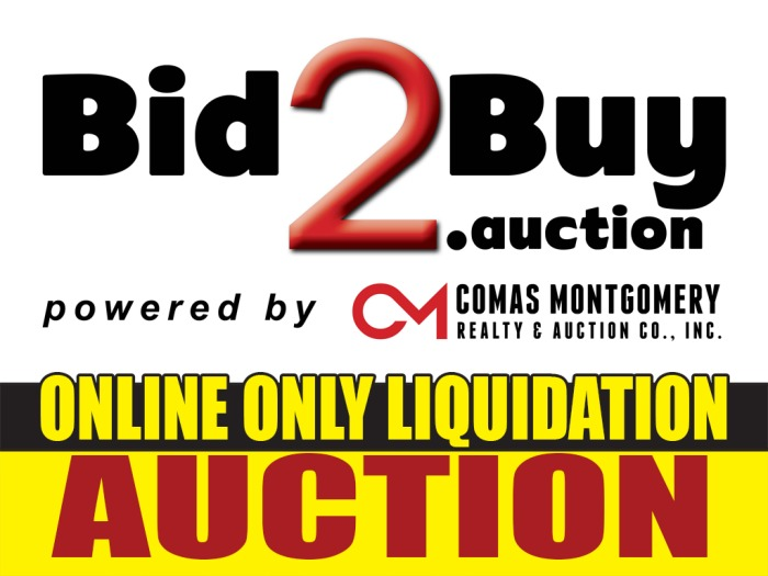 Online Auction Warehouse Liquidation Vehicles Tools Furniture Glassware Electronics And More Comas Montgomery Realty Auction Co Inc