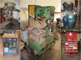 Metal Fabrication Shop Welders, Presses, Lathes & Hand Tools featured photo 1