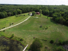 Northern Boone Co. 16.95 +/- Ac. Open & Wooded With A One Level Home, 1125 W. Creed Rd., Sturgeon, MO featured photo 1