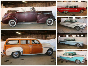 '40 Packard 120 Convertible Sedan, '49 Plymouth Super Woody Wagon, Ford, Edsels & More! featured photo 1