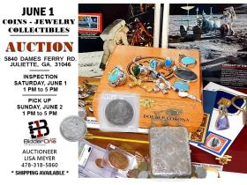 COINS - JEWELRY - STAMPS & COLLECTIBLES AUCTION featured photo 1