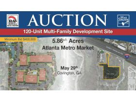 Approved 120 Unit Multi Family Site • 5.864 Acres featured photo 1