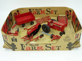 Ertl mini farm set
