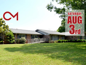 ESTATE AUCTION: 3 BR, 2.5 BA Home on 6.73+/- Acres in Murfreesboro - featured photo 1