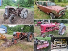 Vintage IH and JD Tractors, Antique and Vintage Automobiles, and Equipment! featured photo 1
