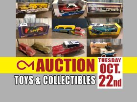 ONLINE AUCTION: Memorabilia, Die-Cast Cars & Trucks, Collectible Toys and More! featured photo 1