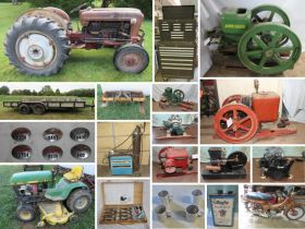 Ford 861, Hit & Miss Engines, Maytag Engines, Equipment, Tools, Trailers & More! featured photo 1