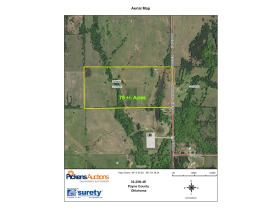 ORTEZ ESTATE AUCTION-GLENCOE, OKLAHOMA REAL ESTATE AUCTION -HOME and 78 +/- Acres PLUS Personal Property featured photo 1