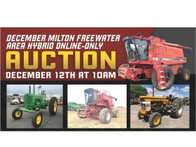 December Milton Freewater Area Auction featured photo 1