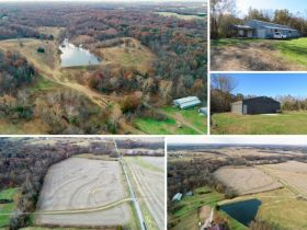 Land Auction, Howard Co., MO - 115 Ac. +/- With Two Outbuildings At 272 State Route K, Glasgow, MO featured photo 2