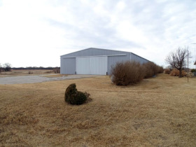 200'x80' Metal Frame Shed