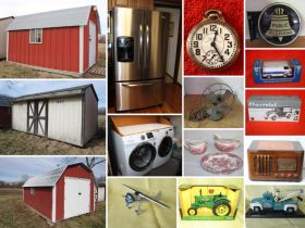 Lawn Sheds, Appliances, Vintage Radios, Pocket Watches & More! - Columbia, MO featured photo 1