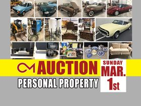 ONLINE AUCTION featuring Classic Cars, Industrial Equipment, Antiques, Home Decor, Furniture and More! featured photo 1