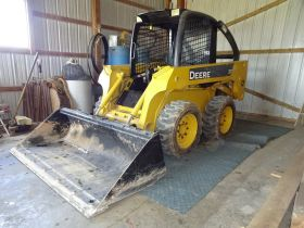 JOHN DEERE SKID STEER - FARM MACHINERY - STOCK TRAILER - Online Bidding Ends TUE, MARCH 24 @ 5:00 PM EDT featured photo 2