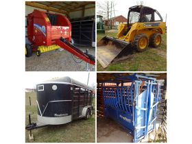 JOHN DEERE SKID STEER - FARM MACHINERY - STOCK TRAILER - Online Bidding Ends TUE, MARCH 24 @ 5:00 PM EDT featured photo 1