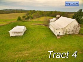 Tract 4 with barns and 8 Acres