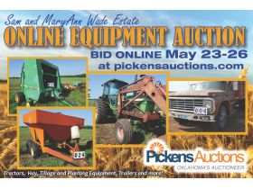 Sam and MaryAnn Wade ESTATE EQUIPMENT AUCTION featured photo 1