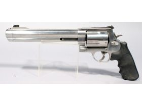 pistol with long barrel