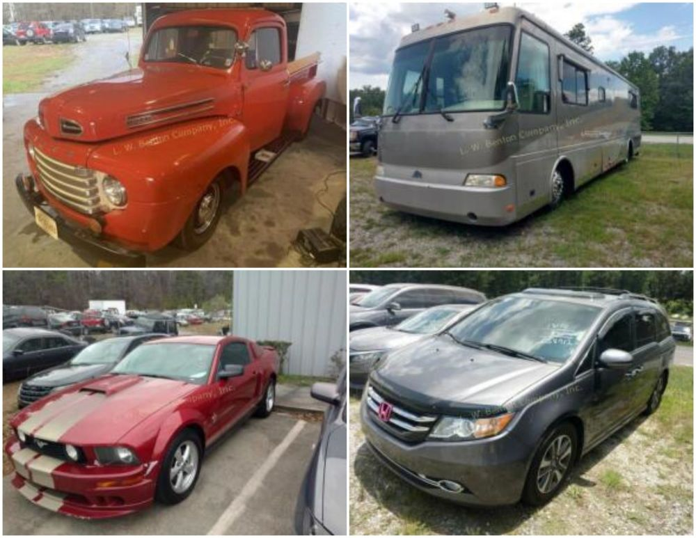 Online Only Bank Repo Consignment Auction