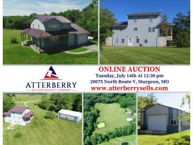 10+/- Acres, Home & Shop in Northern Boone County, 20075 N. Rte. V, Sturgeon, MO 65284 featured photo 2