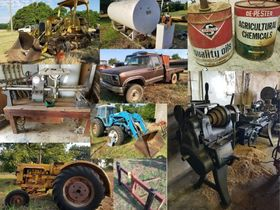 LIFETIME COLLECTION ~ OLDER FARM EQUIP ~ LOW MILEAGE PICKUP ~ BUILDING MATERIALS ~ COLLECTIBLES ~ BARN FINDS ~ TREASURES ABOUND featured photo 1